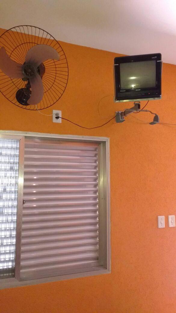 Estrutura oferece TV