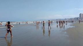 Apesar de movimentadas, as praias do litoral sul de SP são bastante atrativas