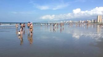 Nada como curtir um final de semana com sol, calor e água do mar