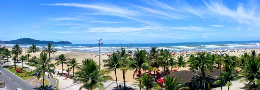 Não deixe de conhecer a Praia Guilhermina.