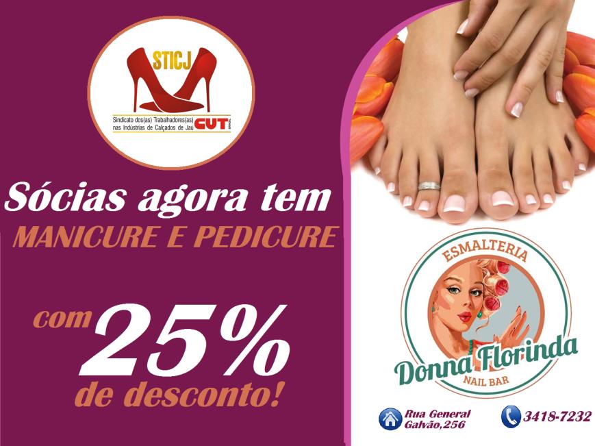 Meme convêncio com Dona Florinda manicure e pedicure
