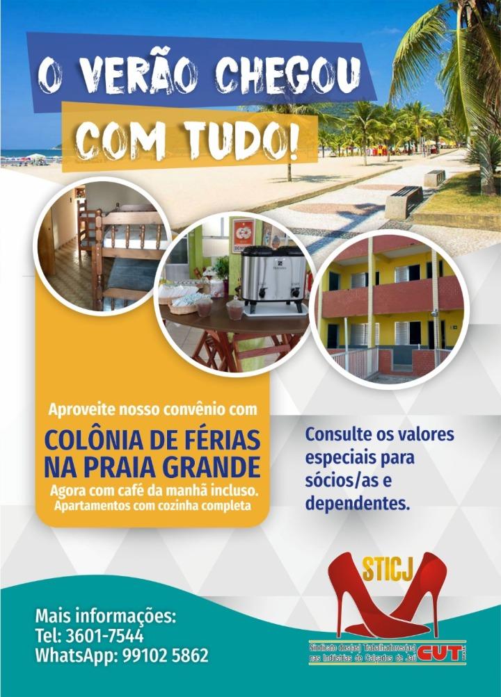 Flyer Colônia de Férias
